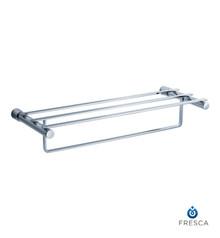 """Fresca FAC0142 23""""  Towel Shelf and Bar - Rack  - Chrome"""