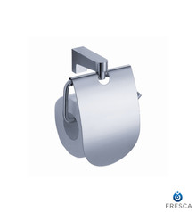 Fresca FAC2326 Covered Toilet Paper Holder  - Chrome