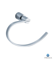 Fresca FAC0125 Towel Ring  - Chrome