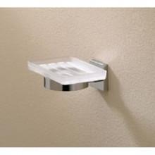 Valsan Braga 67685CR Wall Mount Soap Dish - Chrome