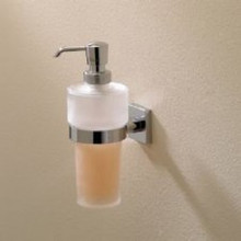 Valsan Braga 67684ES Wall Mount Soap Dispenser - Satin Nickel