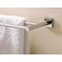"""Valsan Braga 67675CR 19 11/16"""" Double Towel Bar - Rack - Chrome"""