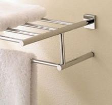 "Valsan Braga 67663ES 15 3/4"" Towel Bar & Shelf - Satin Nickel"