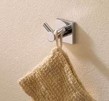 Valsan Braga 67612ES Bathroom Robe Double Hook - Satin Nickel