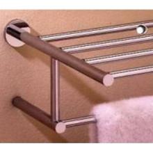 """Valsan Porto 67563CR 15 3/4"""" Towel Bar & Shelf - Chrome"""
