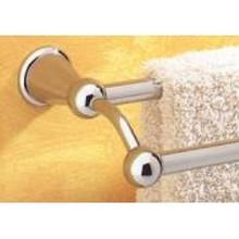 "Valsan Sintra 66876NI 25"" Double Towel Bar - Rack - Polished Nickel"
