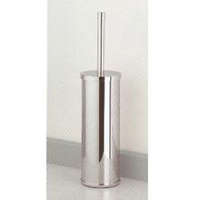 Valsan Cubis Plus 66498ES Freestanding Toilet Brush Holder-Satin Nickel