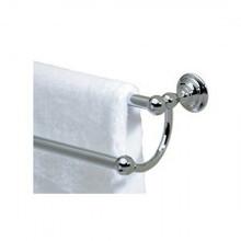 "Valsan Kingston 66376NI 25"" Double Towel Rail - Bar - Polished Nickel"