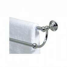 "Valsan Kingston 66376ES 25"" Double Towel Rail - Bar - Satin Nickel"