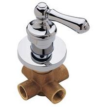 Price Pfister 015-38BC Wall Mount Shower Diverter Trim & Valve  - Chrome