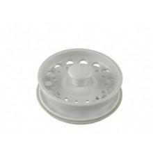 Opella 799.31 Basket Strainer & Stopper For Disposer  - Euro White