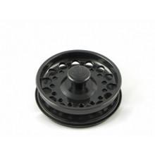 Opella 799.06 Basket Strainer & Stopper For Disposer  - Glossy Black