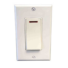 Amba ATW-SW Hardwired Pilot Light Switch For Towel Warmer or Light - By Leviton - White