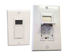 Amba ATW-T24 Towel Warmer Hardwired Programmable Timer Switch - White - 7 Days/24 Hour