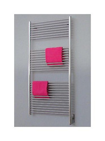 "Amba Antus A-2056-P 20"" W x 56"" H Towel Warmer & Space Heater - Polished Stainless"