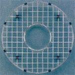 """Houzer BG-1800 13 3/4"""" Bottom Grid for Bar-Prep Sink - Stainless Steel"""