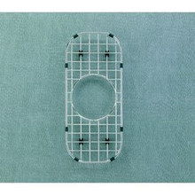 "Houzer WireCraft BG-1100 6 1/4"" x 14 1/4"" Bottom Grid for Sink - Stainless Steel"