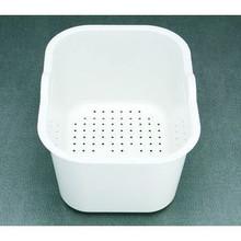 """Houzer Edura CL-1420 Colander for Sink - White 11-5/16"""" x 14-15/16"""" x 7-15/16"""""""
