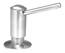 Mountain Plumbing MT100 PVD Brass Soap/Lotion Dispenser - Polished Brass