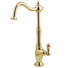 Kingston Brass Low-Lead Cold Water Filtration Filtering Faucet - Polished Brass