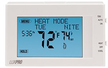 LuxPro P721UT Heat & Cool Touchscreen Programmable 7 Day Thermostat