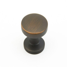"Schaub 211-ABZ Northport Door Knob 1-3/8"" diam - Ancient Bronze"