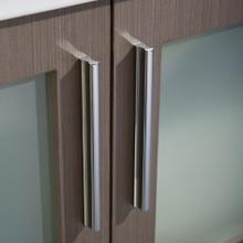 "Fresca FVN6236GO-UNS Torino Espresso Bathroom Vanity with Integrated Sink & Faucet 35.75"" W - Gray Oak"