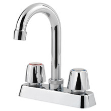 Price Pfister G171-4000 Pfirst Series Two Handle Centerset Bar Faucet - Polished Chrome