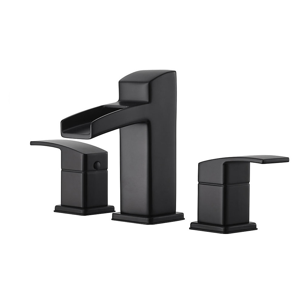 Price Pfister Lg49 Df0bkenzo Two Handle Widespread Bathroom Faucet