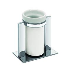 Valsan Pombo Sensis Freestanding Tumbler Holder - Polished Nickel