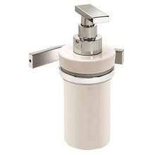 Valsan Sensis Wall Mounted Liquid Soap Dispenser - Polished Nickel