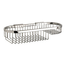 "Valsan Classic Detachable Oval Soap Basket Medium 4 1/2"" X 13 3/4"" - Chrome"
