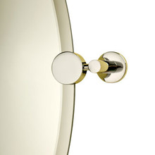 Valsan Porto Mirror Support - Satin Nickel