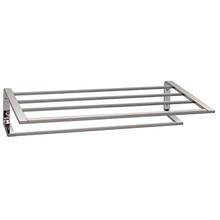 "Valsan Sensis Towel Shelf & Rack / Bar 20 1/2"" - Chrome"