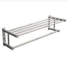 """Valsan Classic Towel Rack Shelf with Bar 24 1/2"""" - Chrome"""
