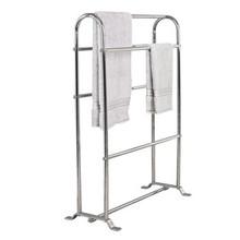 "Valsan Classic Freestanding Towel Horse Rack 11 1/2"" X 26"" X 35"" - Chrome"