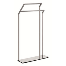 Valsan Sensis Freestanding Towel Rail / Bar - Chrome