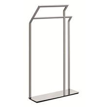 Valsan Sensis Freestanding Towel Rail  / Bar - Satin Nickel