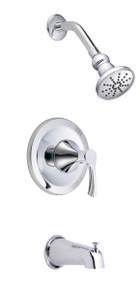 Danze D502022T Antioch Single Handle Tub & Shower Faucet Trim - Chrome
