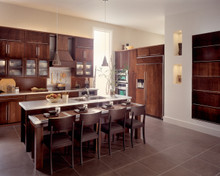Kraftmaid Kitchen Cabinets - Solid (AW) Cherry in Kaffe
