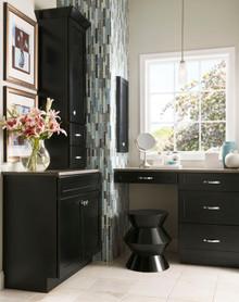 Kraftmaid Kitchen Cabinets -  Square Recessed Panel - Veneer (MP) Maple in Biscotti w/Coconut Glaze