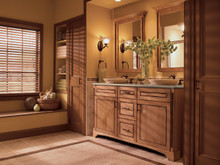 Kraftmaid Kitchen Cabinets -  Square Raised Panel - Solid (PVM) Maple in Toffee