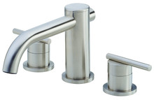 Danze Parma D305658BNT Two Handle Roman Tub Faucet - Brushed Nickel