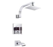 Danze D512044T Sirius Single Handle Tub & Shower Faucet Trim 2.0 Gpm Showerhead - Chrome