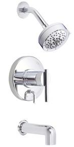 Danze D512058T Parma Single Handle Tub & Shower Faucet Trim 2.0 Gpm Showerhead - Chrome