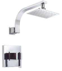 Danze D512544T Sirius Single Handle Shower Faucet Trim 2.0 Gpm Showerhead - Chrome