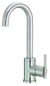 Danze D150558SS Parma Single Handle Bar Prep Faucet 1.75gpm - Stainless Steel