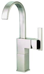 Danze D201144BN Sirius Single Handle Lav Vessel Filler Faucet 1.2gpm - Brushed Nickel