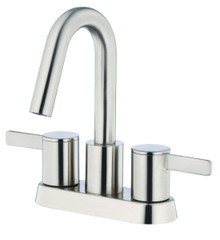 Danze D301130BN Amalfi Two Handle Centerset Lavatory Faucet 1.2gpm - Brushed Nickel