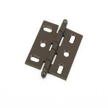 Schaub 1111B-10B Ball Tip Mortise Hinge - Oil Rubbed Bronze